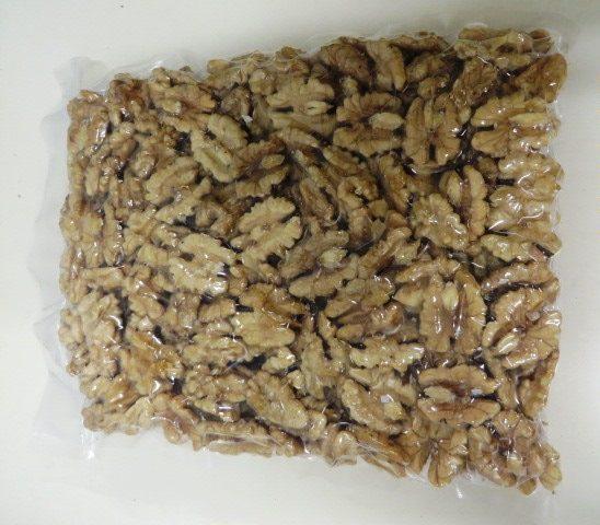 Vacuum sealed walnuts